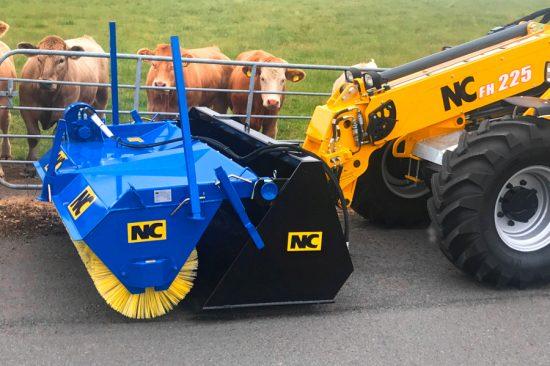 NC Bucket Sweeper - 2.36m model